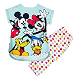 Disney Mickey Mouse and Friends Sleep Set for Girls, Size 2