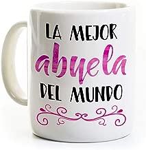 La Mejor Abuela Coffee Mug - Spanish Best Grandma in the World