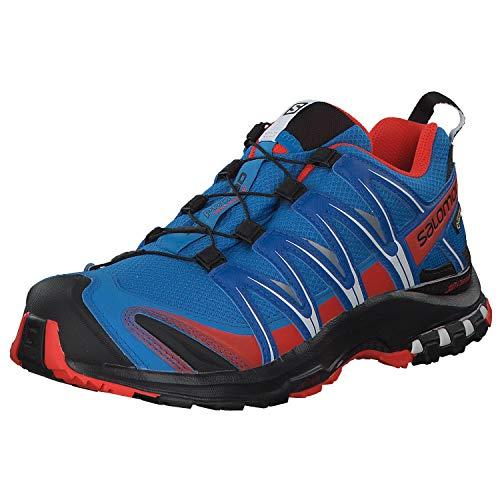 Salomon Xa Pro 3D GTX, Chaussures de trekking et de marche pour homme, Bleu (Indigo Bunting), 41 1/3 EU (7.5 UK)