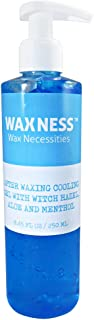 Waxness After Waxing Cooling Gel with Witch Hazel, Aloe and Menthol 8.45 fl oz / 250 ml