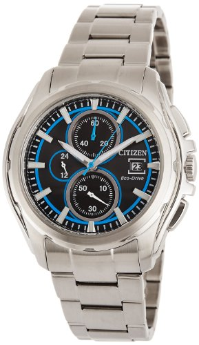 Citizen CA0270-59E - Reloj cronógrafo de Cuarzo para Hombre, Correa de Acero Inoxidable Color Plateado