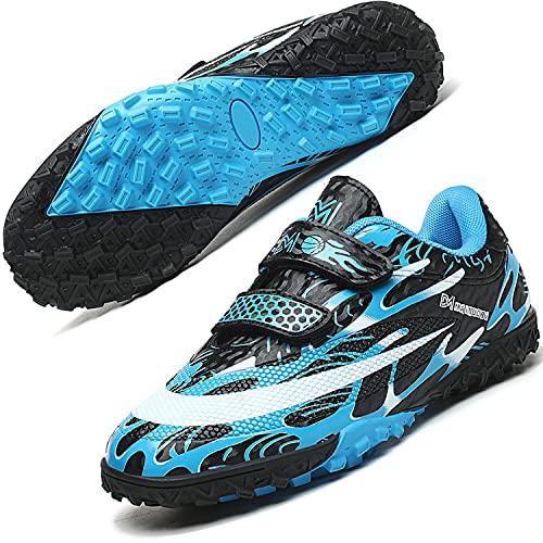 DIQUEQI Astro Turf Football Boots Boys Girls Football Trainers Soccer Athletics...