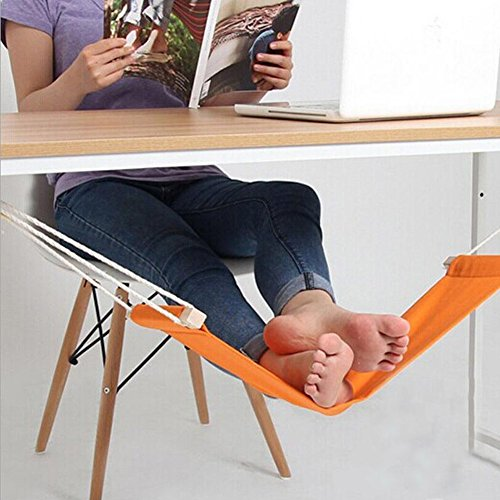 Infinitely Great Home Decor Center Pied Hamac Portable réglable Mini Repose-Pieds Support Bureau Pieds Hamac sous Le Bureau Pédale