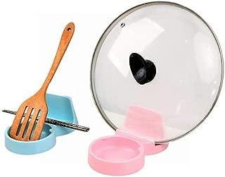 BEATON JAPAN おたま置き おたま立て 菜箸 鍋蓋 まな板 多機能 スタンド キッチン アイデアグッズ 衛生的 (ピンク)