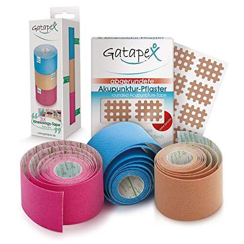 Gatapex SET Akupunktur-Pflaster & Kinesiology-Tape