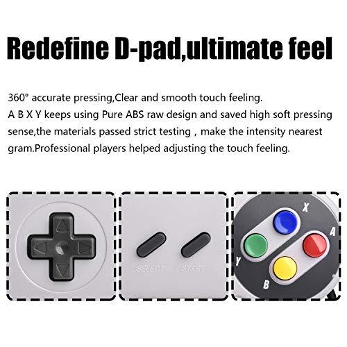 iNNEXT® 2X USB Controller für SNES NES Spiele, klassischer Retro USB Gamepad Joystick für Windows PC MAC und Raspberry Pi System