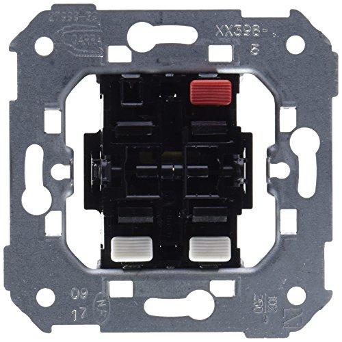 Simon 75398-39 75398-39-Conjunto de 2 interruptores, 10AX, 250V con Sistema de conexión de Terminal rápido, 250 V, Blanco