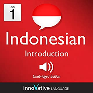 Learn Indonesian - Level 1: Introduction to Indonesian audiobook cover art