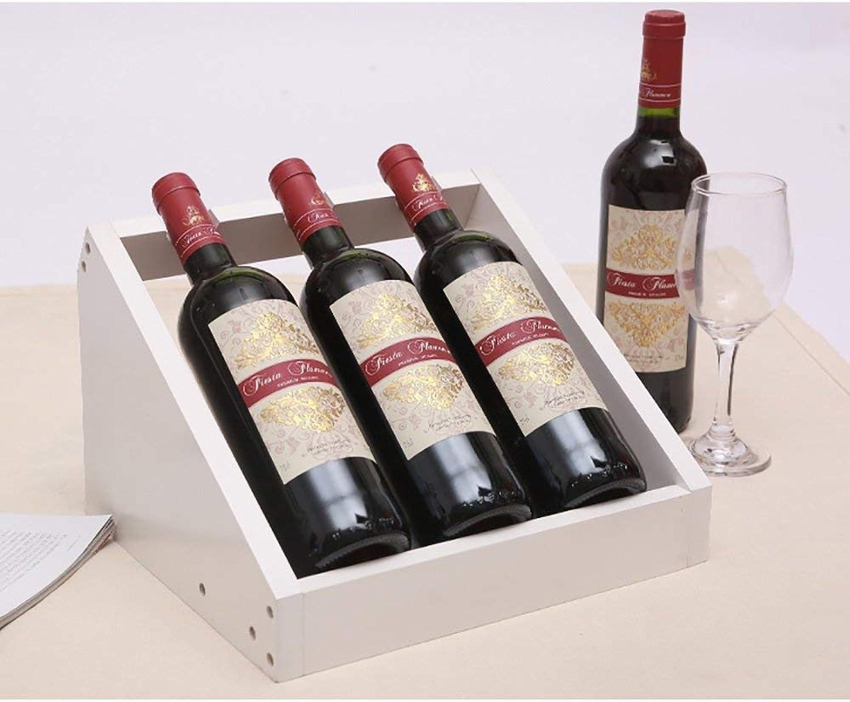 envío gratis XQY XQY XQY Rack de vinos para el hogar, Rack de Vino Decorativo, Rack de Vino para la decoración del Restaurante, Rack de Vino Encimera blancoa Gabinete de pie Libre Restaurante Botella Soporte para exhibici  diseño único