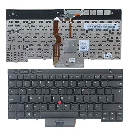 Laptop Keyboard Replacement for LENOVO IBM THINKPAD T430 T430s X230 T530 W530 KEYBOARD UK LAYOUT 0C01914 F146
