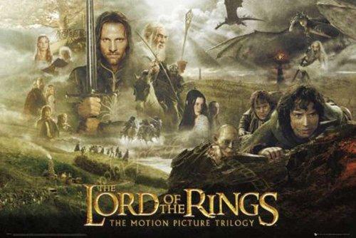 empireposter - Lord Of The Rings - Trilogy - Größe (cm), ca. 91,5x61 - Poster, NEU -