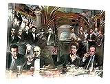 Scarface Sopran Godfather Good Fellas Collage Kunstwerk