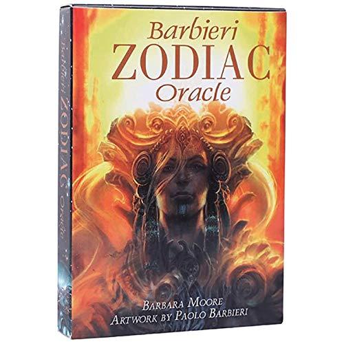 LHJY Cartas De Tarot Barbieri Zodiac Oracle Tarot Card Full English Adivinación Card Party Deck Juego De Mesa Juguetes