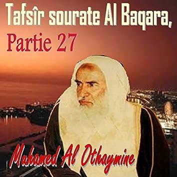 Tafsîr sourate Al Baqara, Partie 27 (Quran)