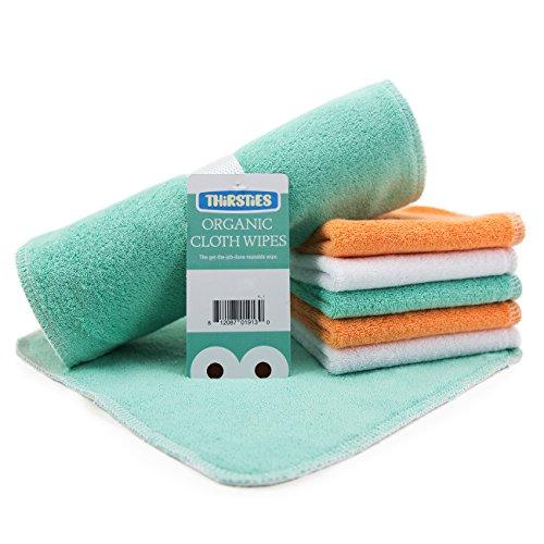 Thirsties Organic Cloth Wipes - 6 Pack
