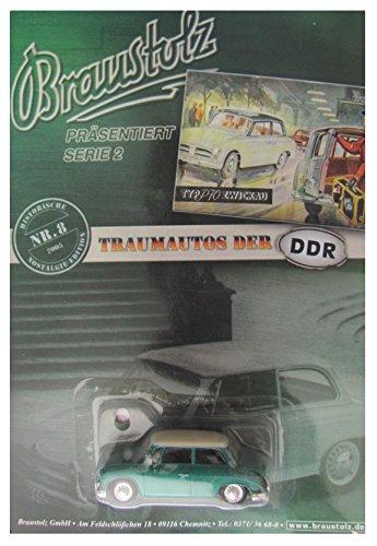 Braustolz Nr.92 - VEB Autobilwerk AWZ P70 Limousine - DDR Pkw