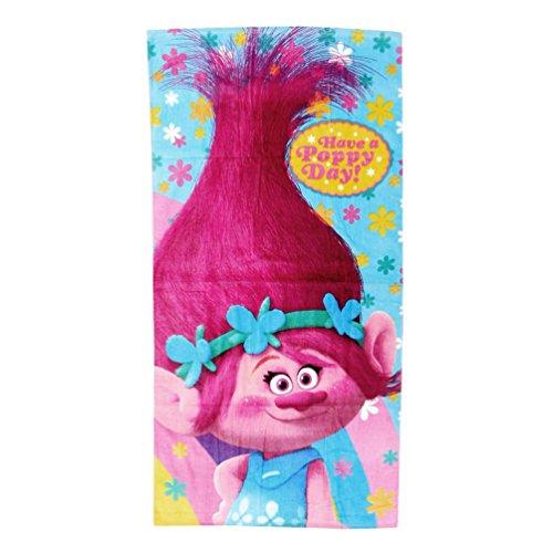Toalla Trolls Have a Poppy Day algodon