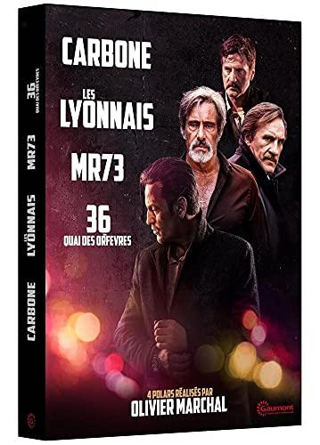 Carbone + Les Lyonnais + MR 73 + 36 Quai des Orfèvres [Francia] [DVD]