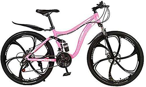 Bicicleta eléctrica Bicicleta eléctrica por la mon Bicicleta de montaña, de 26 señoras de la pulgada de bici, masculino joven Off-Road de bicicletas de montaña, bicicletas de doble suspensión, 21 de v