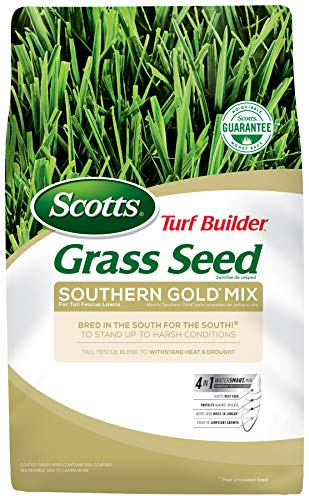 Scotts Turf Builder Grass Seed Southern Gold Mix For Tall Fescue Lawns - 40...