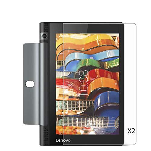 Kepuch 2 Paquetes Vidrio Templado Protector de Pantalla para Lenovo Yoga Tab 3 8 Inch YT3-850M YT3-850F YT3-850LC