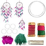 Do It Yourself Wall Hanging Kit Package contains: Kindly refer the image no.4 and description Can makes upto 2 to 4 Wall Hangings (Images) Get creative and use these items to create unique and beautiful masterpieces For more related items, click on D...