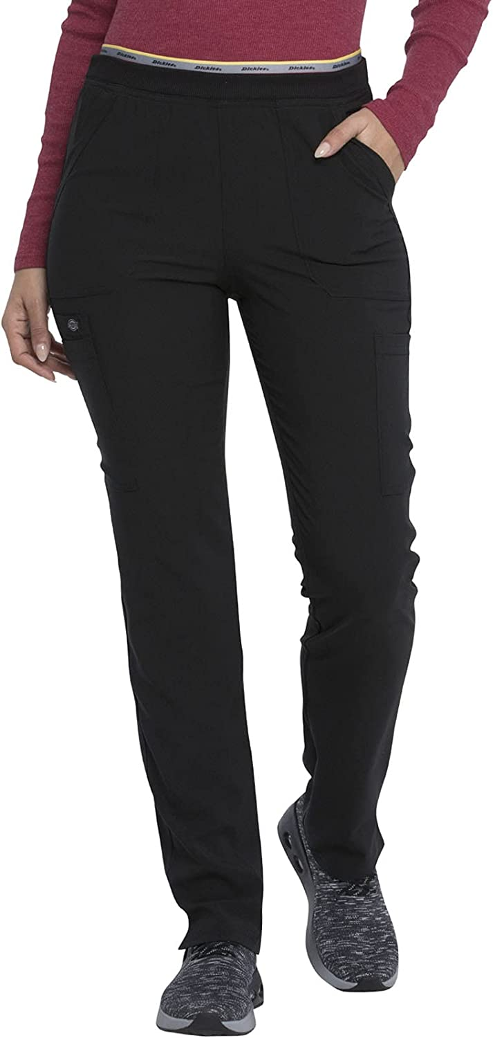 Ultra-Cheap Deals Dickies Retro Women Scrubs Pant Mid Leg 5% OFF Pull-on Rise Tapered Car