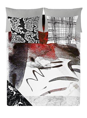 NATURALS Aydin Funda Nórdica, Algodón, Multicolor, 90 cm