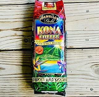 hawaiian gold kona coffee gourmet blend