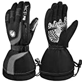 MCTi Ski Gloves Winter Waterproof Touch Screen Thinsulate Nylon Gloves for Women