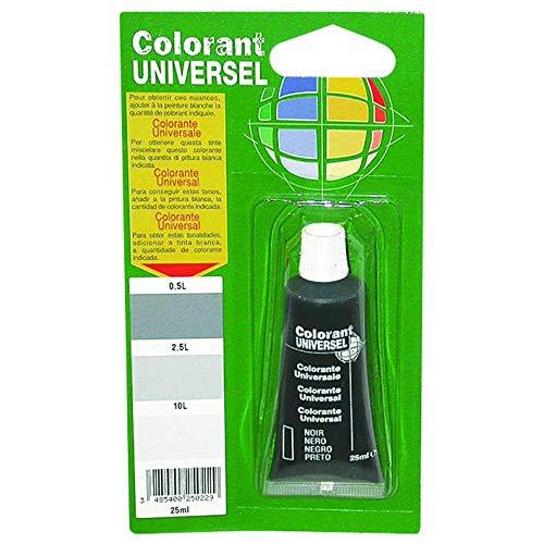 Bredac 11b4000021Vaso di pittura colorante nero 25ml