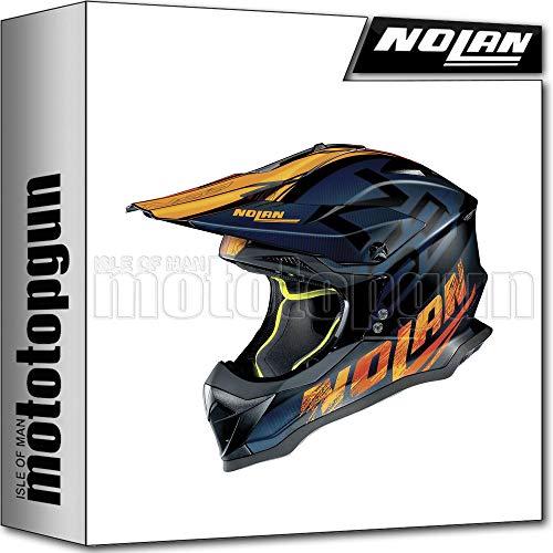NOLAN CASCO MOTO CROSS N53 WHOOP NERO MATTO 047 TG. XL