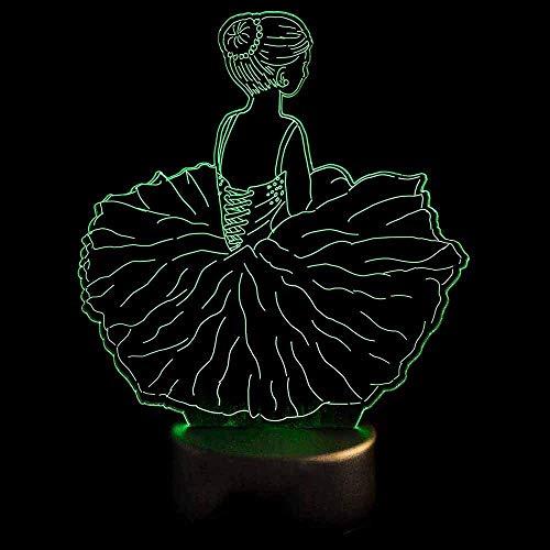 Lindo gato 3D luz nocturna interruptor táctil LED animal luz 7 colores USB 3D cubierta deslizante luz decoración del hogar como regalo de juguete para niños
