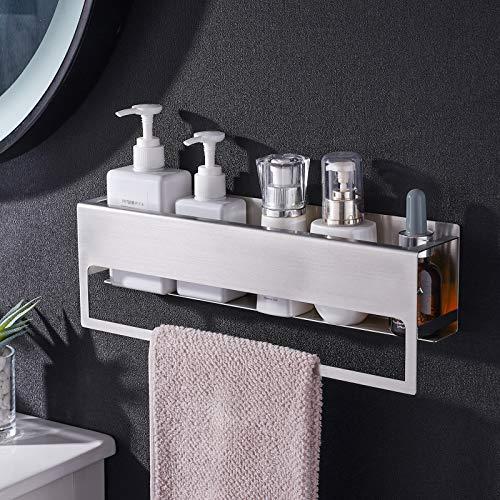 Aikzik Handtuchhalter Ohne Bohren Gästehandtuchhalter Selbstklebend Handtuchstange Edelstahl für Badezimmer