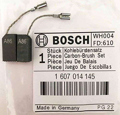 Echt Bosch Kohlebürsten 1607014145 für Gws 660 Gws 600 Gws 6-100/6-100 E Gws 850 C Gws 850 Ce Gws 6-115/6-115 E Gws 8-115 C Pws 700-115 850 Ce Winkelschleifer Gex 150 Turbo Sander S44
