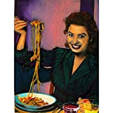 Wee Blue Coo Painting Portrait Sophia Loren Movie Actress
