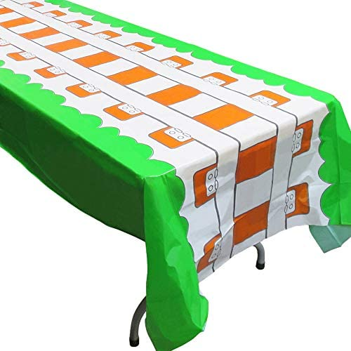 Train Track Tablecovers 2 Party low-pricing Supplies Al sold out. Great for Min