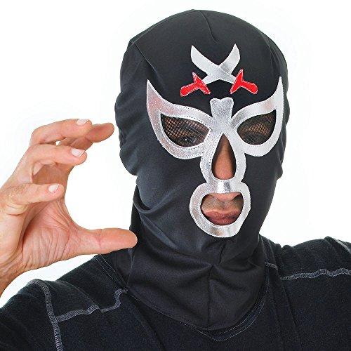 Bristol Novelty- Máscara Luchador Macho Disfraz