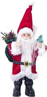 Merry Christmas!Fauean Creative Cloth Santa Claus Doll Mini Doll Toy Table Decoration for Home,Cute Santa Snowman Deer Soft Cloth Doll Cartoon Kids Toy Christmas Tree Ornament