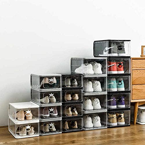 SavIz Stackable Shoe Organizer Max 43% OFF - Pack 4 O Collection Detroit Mall Sneaker