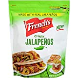 French's Crispy Jalapenos are made with only carefully sourced, real jalapenos to fire up the flavor and deliver a whole new level of craveable crunchy texture to chef-inspired recipes Non-GMO, dairy-free, vegetarian, kosher and free from partially h...