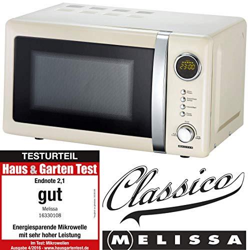 Melissa 16330108 Microondas, Acero Inoxidable