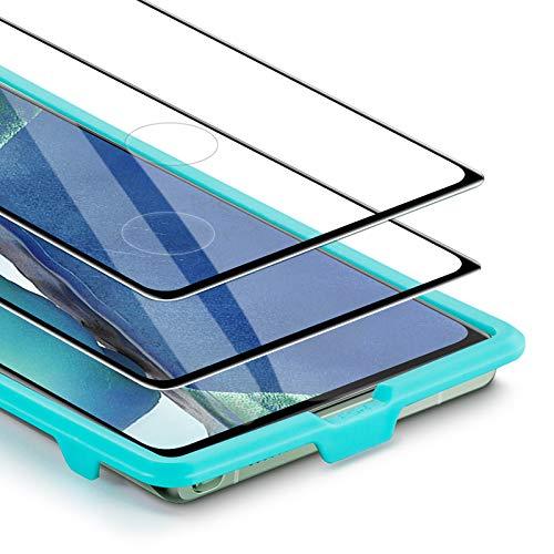 ESR Pellicola per Il Samsung Note 20, Protettore Schermo in Vetro temperato per Galaxy Note 20[2-Pezzi] [Compatibile con Le Impronte digitali ultrasoniche] [Copertura a Schermo Intero]