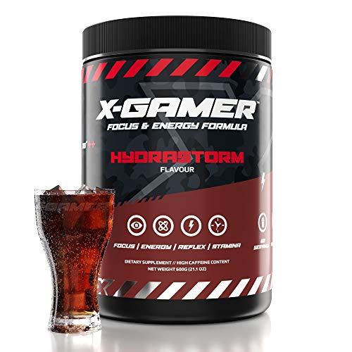X-Gamer X-Tubz - Gaming Booster Pulver - Shake It Yourself - 600g (60 servings) (Hydrastrom)