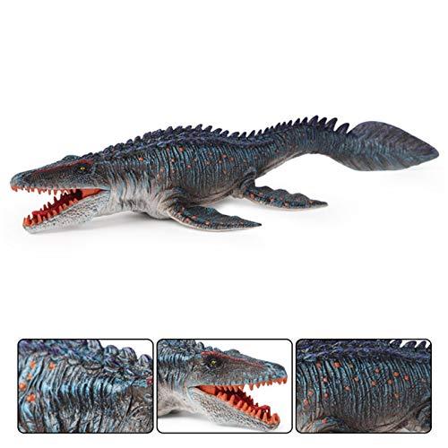 JooDaa Figuras realistas de Dinosaurio de 34 CM / 13,4, Modelo de Dinosaurio Mosasaurus Realista, Juguetes de Dinosaurio decoración de coleccionista, Juguete de Chico para Fiesta