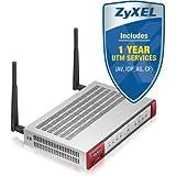 ZyXel USG40W USG40W USG40W Next-Generation USG 11n Firewall, mit 1 Jahr UTM Services, mit 10 VPN-Tunneln, SSL VPN, 1 GbE WAN, 1 Opt GbE, 3 GbE LAN/DMZ, Wireless LAN 802.11n