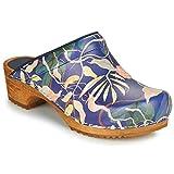 Sanita Persilla Pantoletten/Clogs Damen Blau - 37 - Pantoletten/Clogs Shoes