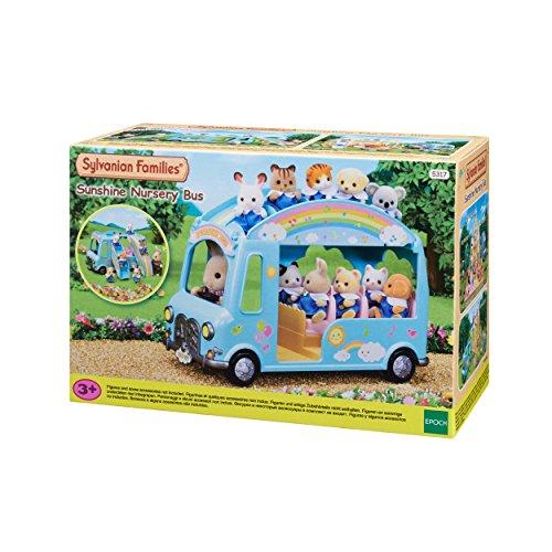Sylvanian Families 5317 Sunshine Nursery Bus, meerkleurig