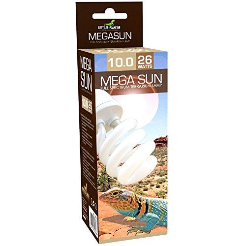 Reptiles Planet Mega Sun Reptilienlampe, UVA/UVB, 10,0-26 W