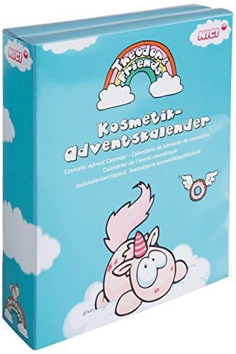 NICI 41240 - Kosmetik Adventskalender Einhorn Theodor